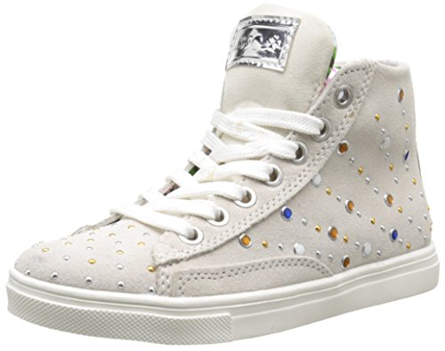 Asso 39203, Sneakers Hautes Fille, Blanc (White), 32