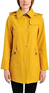 Vince Camuto Womens DNU-V19726 Dnu Hooded Mid-Weight Jacket Outerwear Anorak