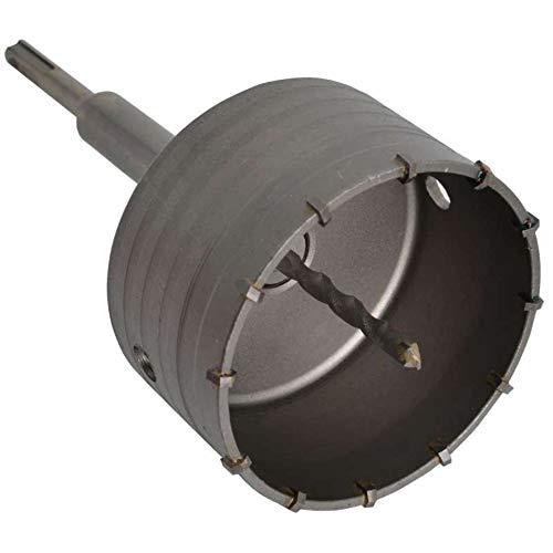 Werkapro 11421 - Sierra de corona SDS para hormigón (carburo de tungsteno, resistente a los golpes, 160 mm de diámetro, 100 mm de diámetro)