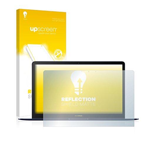 upscreen Entspiegelungs-Schutzfolie kompatibel mit Asus ZenBook 3 Deluxe UX490UA – Anti-Reflex Bildschirmschutz-Folie Matt