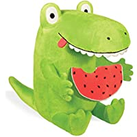 Yottoy Contemporary Collection Kroc & Watermelon Soft Stuffed Animal Plush Toy Pair