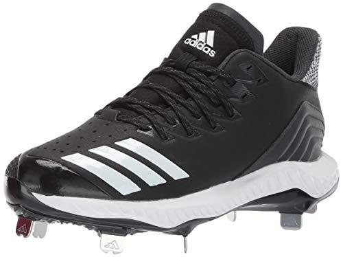 adidas Herren Icon Bounce Baseball Stollen, Schwarz (Schwarz/Weiß/Carbon), 45 EU