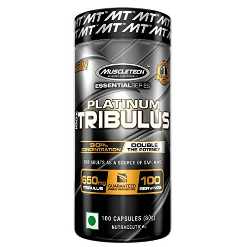 Muscletech Essential Series Platinum 100% Tribulus Standard, 100 g