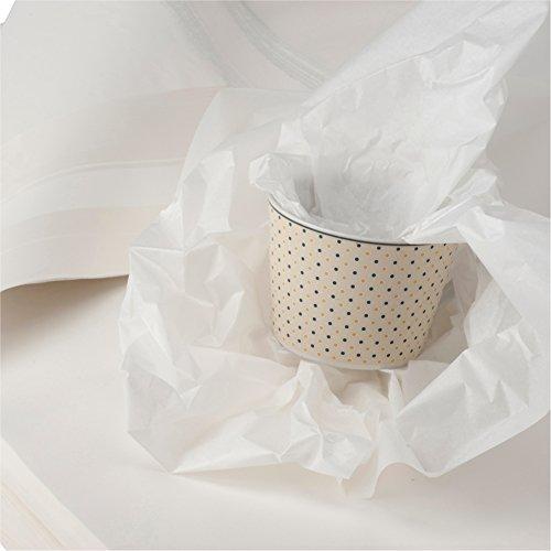 BB-Verpackungen weiße, 5 kg, Juwelierseide 50 x 75cm, Farbe: weiß, holzfrei Packseide Seidenpapier Geschirrpapier thumbnail