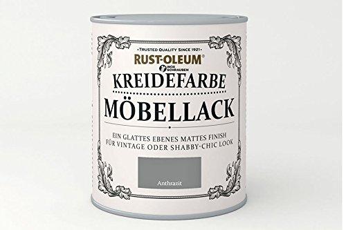 RUST-OLEUM 14011.DE.0.75 Kreidefarbe DOSE 750ml anthrazit
