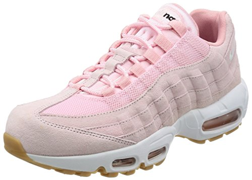 Nike Air Max 95 SD Schuhe Sneaker Neu Damen (EU 40 US 8.5 UK 6, Prism Pink/White-Sheen-Black)