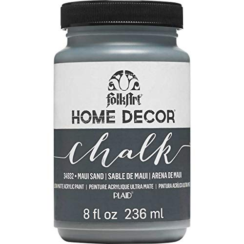 FolkArt 34932 Home Decor Chalk Furniture & Craft Paint in Assorted Colors, 8 ounce, Maui Sand