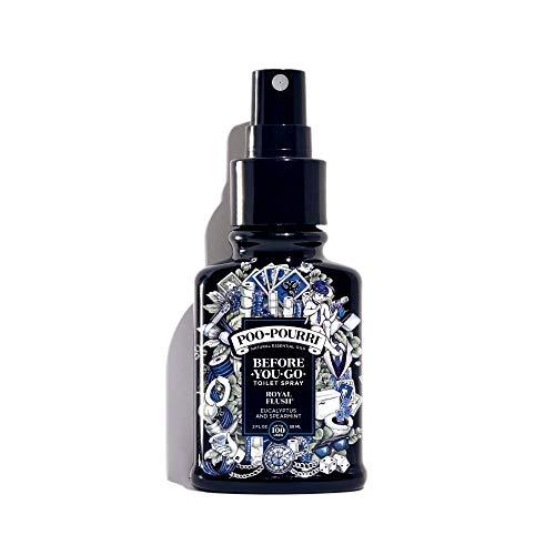 Poo-Pourri, Before-You-Go, Deodorante Spray per Il Bagno (Etichetta in Lingua Italiana Non Garantita), Royal Flush, 2 oz