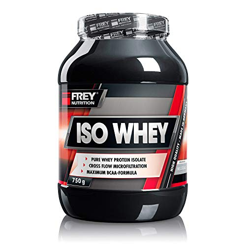 Frey Nutrition Iso Whey Neutral Dose, 1er Pack (1 x 750 g)