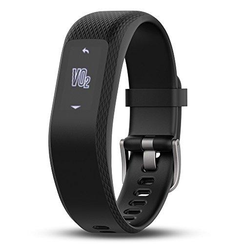 Garmin vívosmart 3 - Bracelet de Fitness avec Cardio Poignet - Taille L - Noir