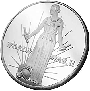 W-Fight World War II Ends World Peace Commemorative Coin Collection Gift Souvenir Art Metal Antiqu,Best Choice for Your Friends AS A Xmas, New Year,Birthday Gift