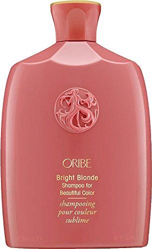 Oribe Bright Blonde Shampoo für eine schöne Haarfarbe, für Damen und Herren, 250ml, nicht professionell, für blonde Haare, revitalisierend, verleiht Glanz