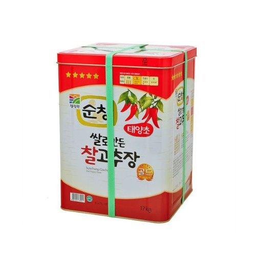 清浄園・スンチャン・コチュジャン17Kg缶