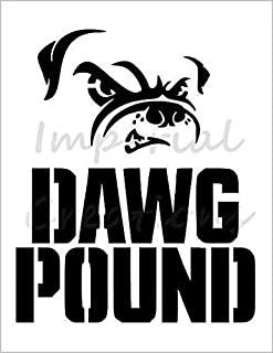DAWG POUND Cleveland Browns Football 8.5