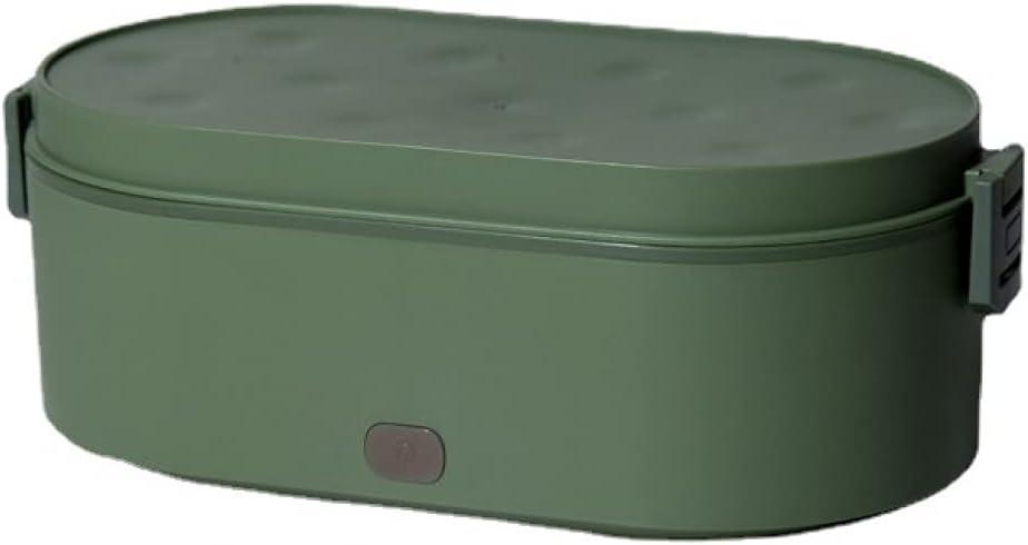 ALQFHFY Fiambrera eléctrica portátil con calefacción eléctrica enchufable USB y Fiambrera de preservación del Calor