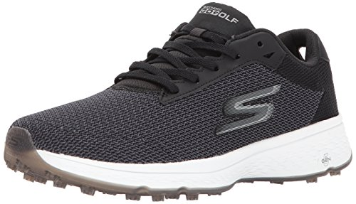 Skechers Herren Go Golf Fairway Wanderschuh, Black White, 39 EU