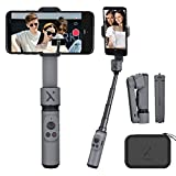 Gimbal Stabilizer for Smartphones, Selfie Stick Tripod Gimbal, Zhiyun Smooth X Foldable Gimbal, Handheld iPhone Samsung Android Phones Gimbal, Supports Youtuber Vlog Live Streaming Video Making