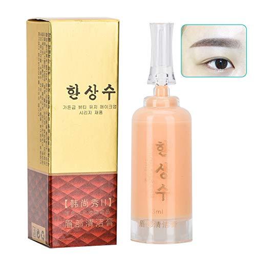 Microblading Tattoo Entferner Cream für Augenbrauen Lippe Augen, Tattoo Repair Gel Lippenpflege Salbencreme, Nicht irritierend frei von alkohol Reiniger (Augenbrauen)