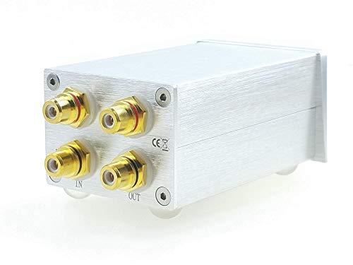 Sale!! SOLUPEAK C3r RCA Stereo Audio Signal Volume Control knob attenuator Passive Preamp
