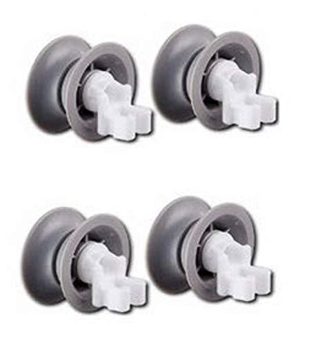 REDPOINT Kit de 4 ruedas cesta lavavajillas adaptable Bosch 611666