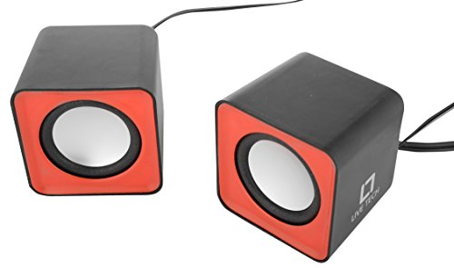 Live Tech SP 02 Laptop Speaker (Red & Black)