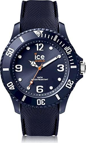 ICE-WATCH Ice Sixty Nine Dark Blue - Reloj Azul para Hombre con Correa de Silicona, 007266 (Large)