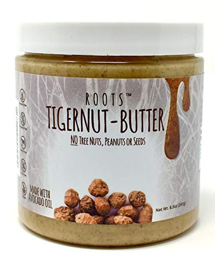 ROOTS Tigernut Butter - Aip Diet and Paleo, Vegan Compliant - Allergen Friendly - Nut Free, Seed Free, Gluten Free, Soy Free - Tiger nut - Aip Snack - (8.5 ounces each) Original Flavor