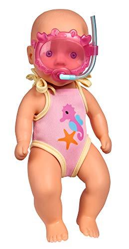 Simba 105030172 New Born Baby Badepuppe