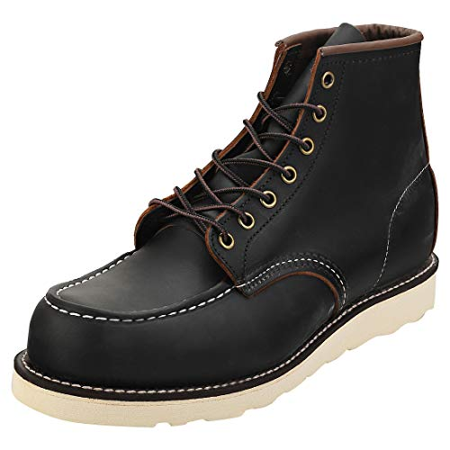 Red Wing 8849 Heritage Work 6' Moc Toe Boot Black UK 10