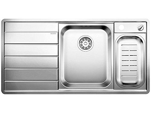 Blanco AXIS II 6 S-IF Dampfgar-Edition Edelstahl Einbauspüle