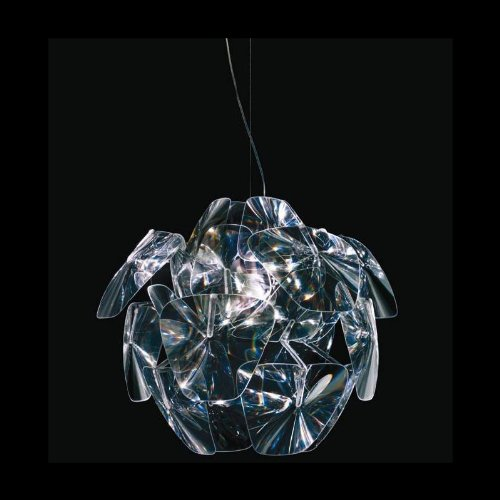 LucePlan Hope Pendelleuchte, transparent Ø 72cm