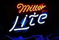 ネオンサイン(Miller Lite beer)ネオン 看板 ネオン管 NEON LIGHT SIGN Bar ネオンライト インテリアバー ディスプレイ 店舗用標識・サイン アメリカン雑貨 喫茶店 広告用看板 クラブ及び娯楽場所等