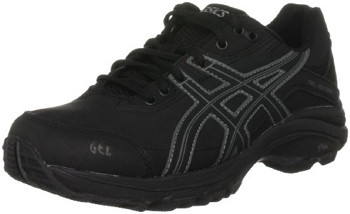 Asics GEL-ODYSSEY WR Q151L, Damen Walkingschuhe, Schwarz (Black/Onyx/Charcoal 9099), EU 38 (US 7)