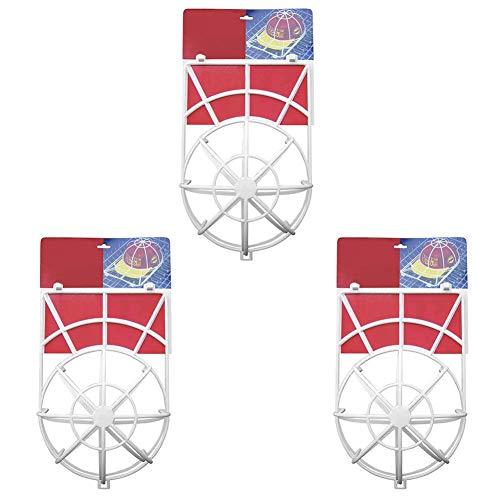 Kyrieval Cap Washer Reinigen Cap Reiniger Spülmaschine Cap Geeignet für Alle Größen 3 Stück Weiß