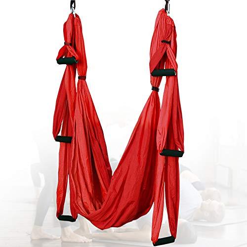 HIMABeauty Antideslizante Silk Yoga Swing para Ejercicios De Inversión De Yoga Antigravedad, Equipo De Ejercicio De Inversión Trapeze Sling, 98.42 * 57.08 Inch