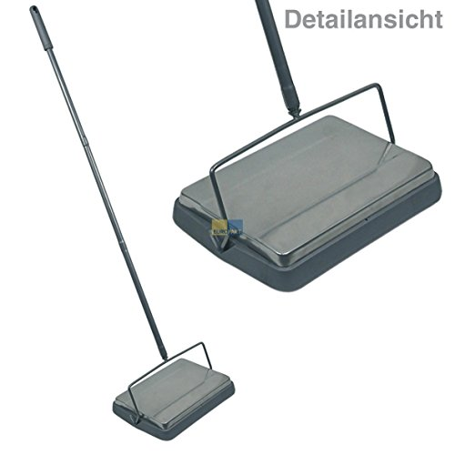 Feiticeira Manual Floor Sweeper Compact Dust Care Brush Sweeper Broom