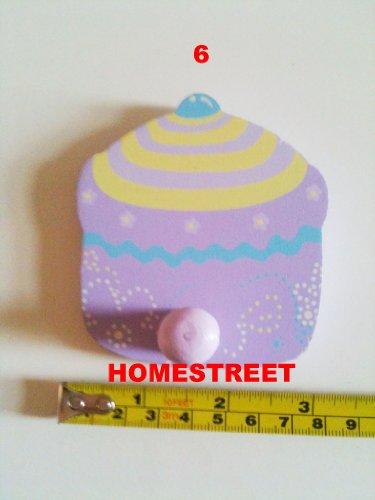 Cupcake Cup Cake en bois Crochets – Crochet ou Crochet numéro 6