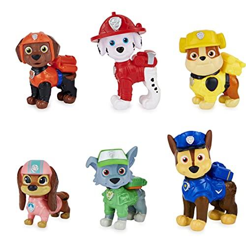 Bizak Patrulla Canina Pack 6 Mini Figuras Movie, Multicolor (61927707)
