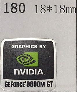 【NVIDIA GEFORCE 8600M GT】エンブレムシール 18*18mm