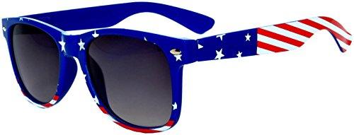 Kids Flag Polarized Lens Sunglasses patriotic 4th of july UV protection