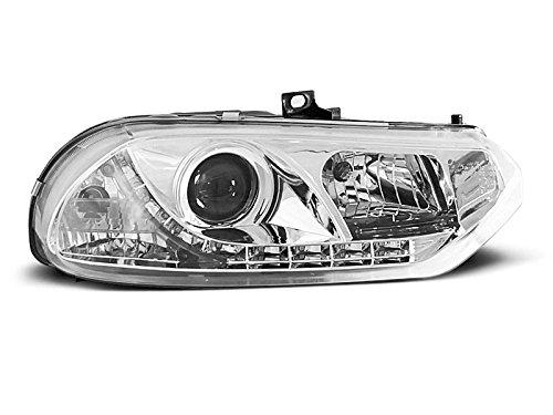 1 paar koplampen 156 97-03 Daylight LED chroom (R01)