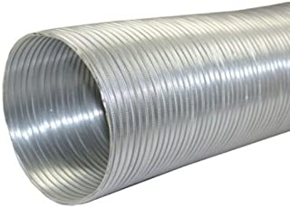 Speedi-Products EX-AF 696 6-Inch Diameter by 96-Inch Length Aluminum Flex Pipe