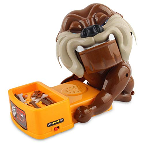 MXECO Beware of The Bad Dog Board Game, Parent-Child Biting The Tiger Dog, Creative Whole Dog Toy Rone Life