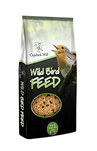 Copdock Mill Wild Bird Seed & Grain Mix, 20kg High Quality Feed from , ideal for hanging seed feeders, table & ground feeding