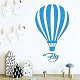 yaonuli Etiqueta de la Pared del Globo de Aire Etiqueta de la Pared extraíble para la decoración del hogar de la habitación de los niños 45x76cm