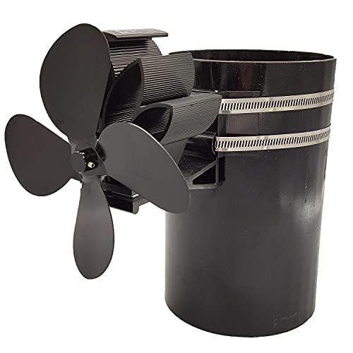 ZGNB 4 Detenga el Ventilador del Ventilador de la Estufa del Horno eléctrico en la Chimenea