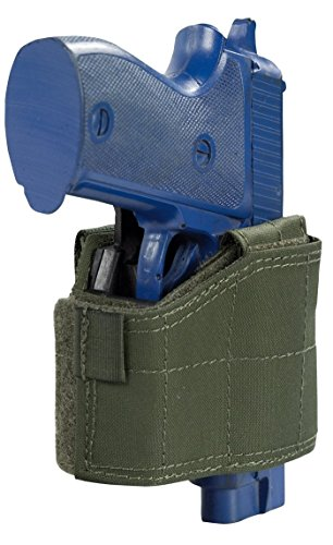 Universal Pistol Holster, Schwarz, Rechts
