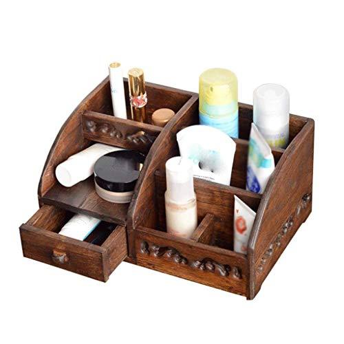 ADSE Aufbewahrungsbox - Make-up-Organizer, moderner kosmetischer Organizer-Make-up-Aufbewahrungshalter, Display-Make-up-Caddy-Regal