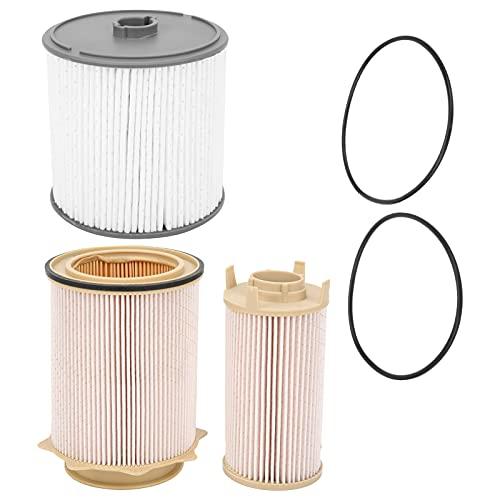 Filtro de combustible, Akozon 68157291AA 6.7L Conjunto de filtro de combustible de coche para Ram 2500 6.7L 2019-2020