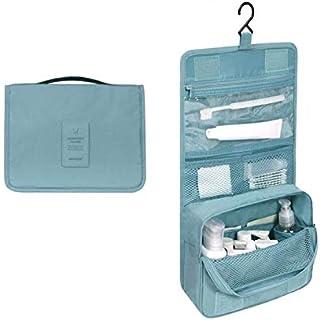 Rubik Hanging Travel Toiletry Bag Travel Kit Organizer Cosmetic Makeup Waterproof Bag for Men Women Girls Travel Case for Bathroom Shower - Sea Green